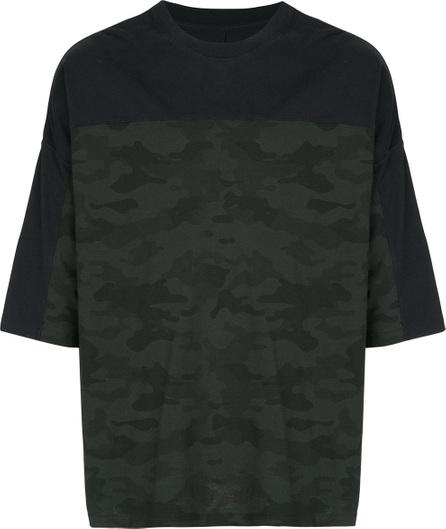 Ben Taverniti Unravel Project Military printed T-shirt