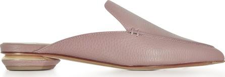 Nicholas Kirkwood Beya Lilac Pink Tumbled Leather Mule