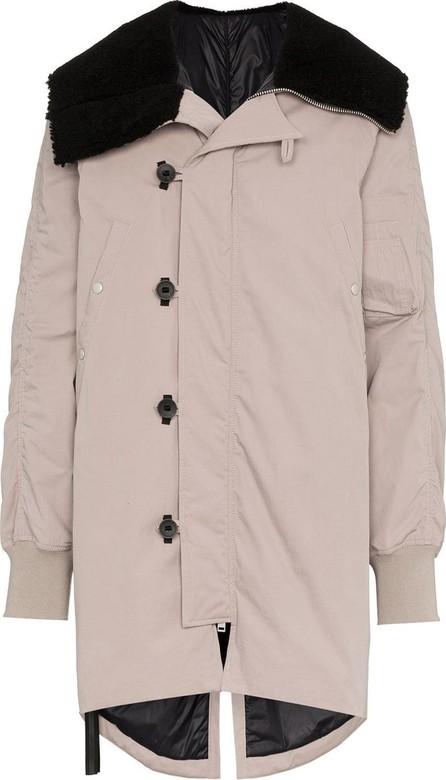 Ben Taverniti Unravel Project Oversized parka coat