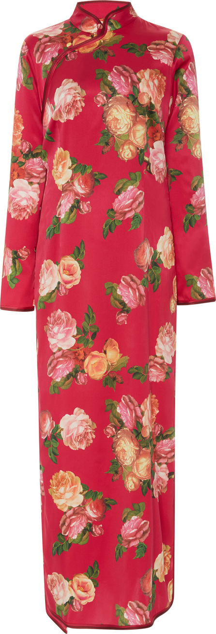 For Restless Sleepers Teseo Satin Dress