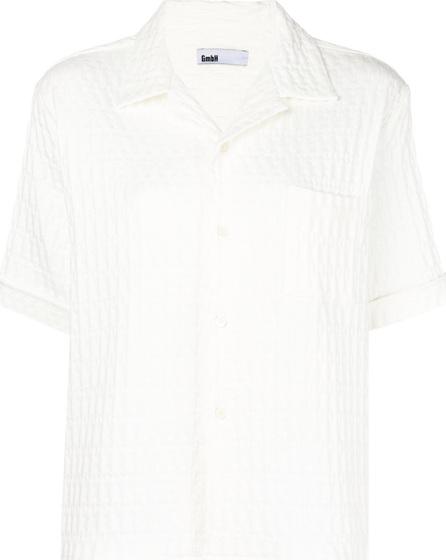 GmbH Textured shortsleeved shirt