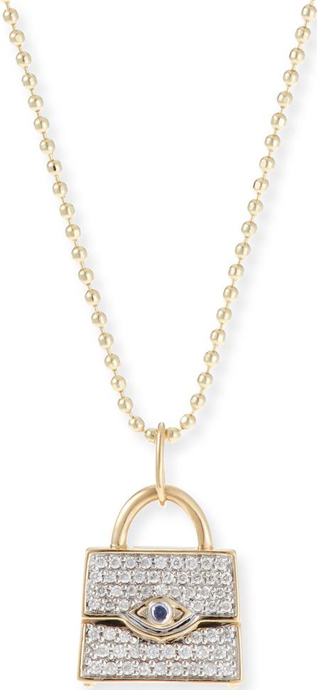 Sydney Evan 14k Handbag Pendant Necklace w/ Diamonds