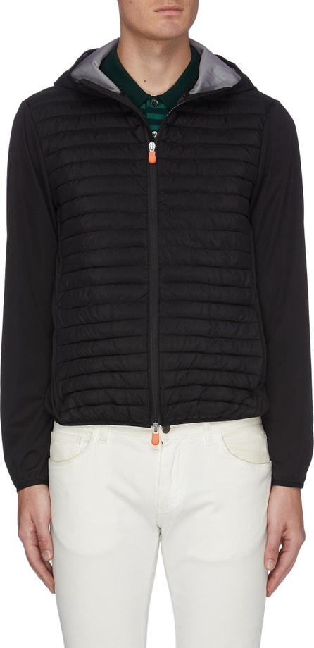 Save The Duck 'Mibax' panelled quilted jacket