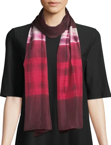 Eileen Fisher Silk Shibori Ribbons Scarf