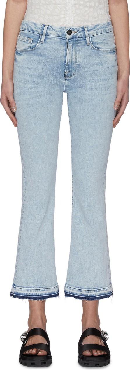 FRAME DENIM 'Le Crop Mini Boot' released hem jeans