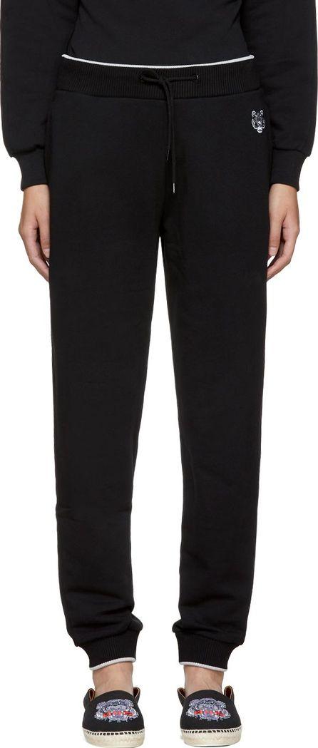 KENZO Black Tiger Crest Classic Lounge Pants