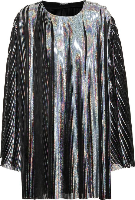 Balmain Metallic minidress