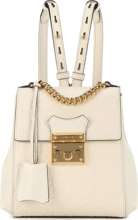Gucci Padlock embossed leather backpack