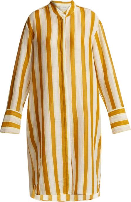 Lee Mathews Watson striped linen shirtdress