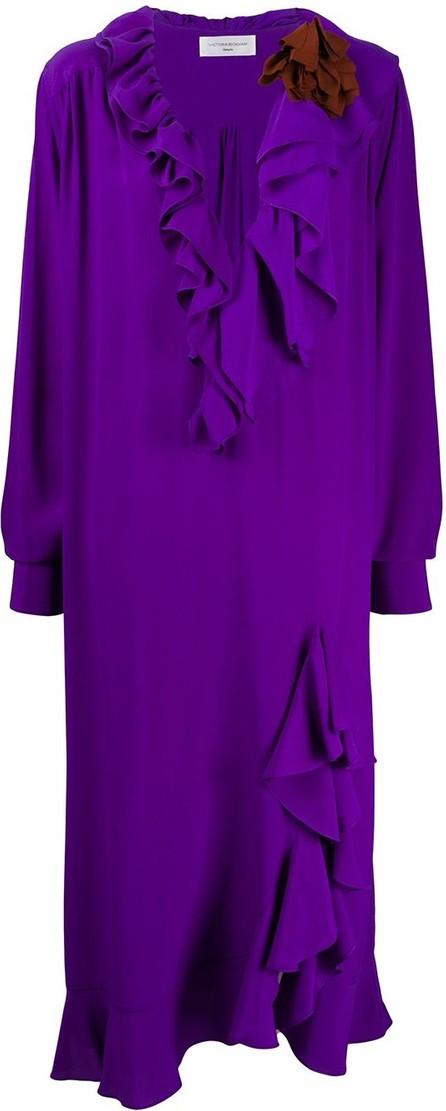 Victoria Beckham Ruffle shift dress