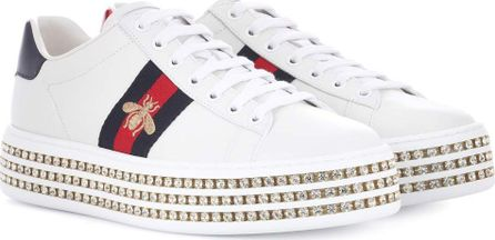 Gucci Ace platform leather sneakers
