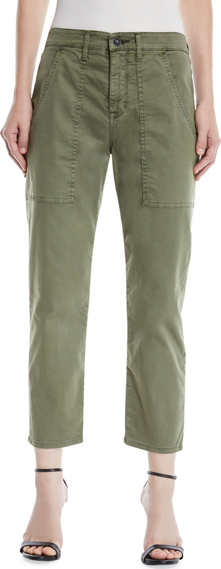 Hudson The Leverage High-Rise Ankle Cargo Jeans