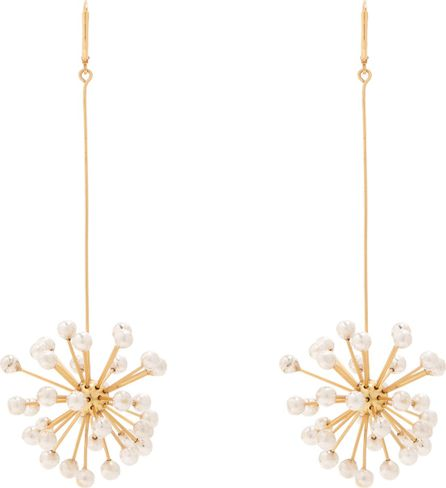 Ellery Dr. Mom pendant-drop gold-plated earrings