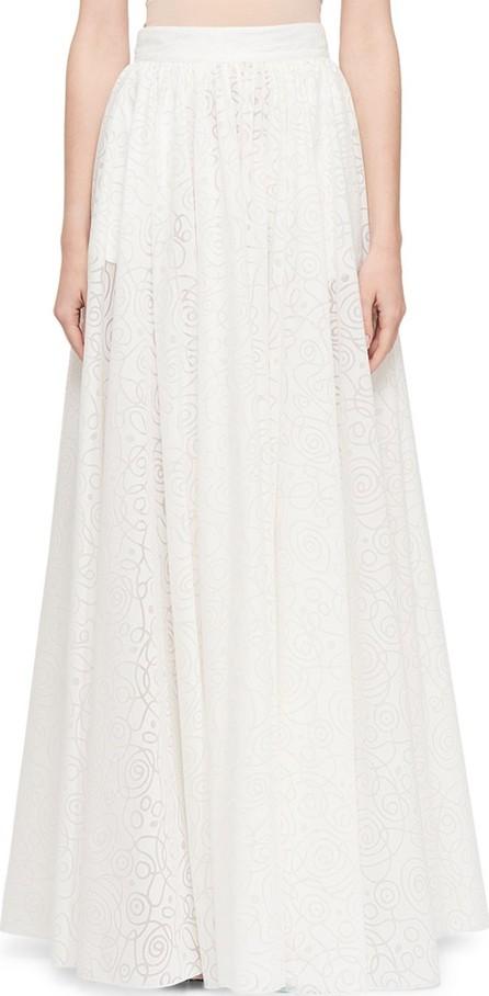Alaïa Circular Dovore Full Skirt