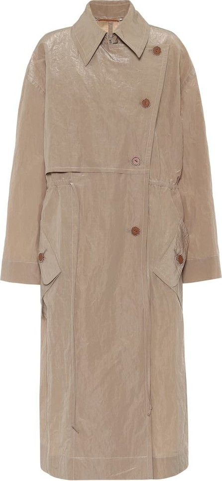 Acne Studios Technical cotton-blend trench coat