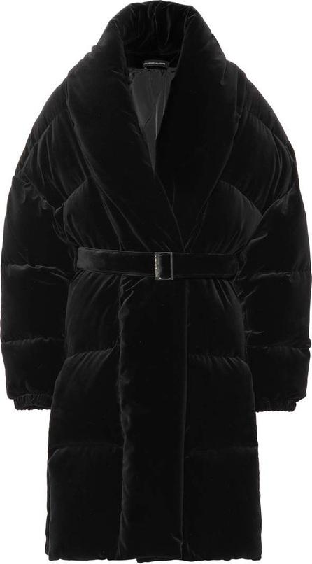 Alexandre Vauthier Velvet puffer coat