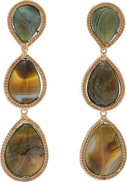 Rosantica Scarabeo drop earrings