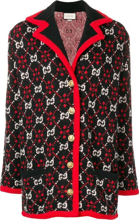 Gucci Logo pattern cardigan