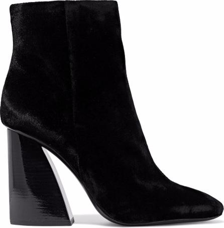 Mercedes Castillo Mc-Kylerhigh velvet ankle boots