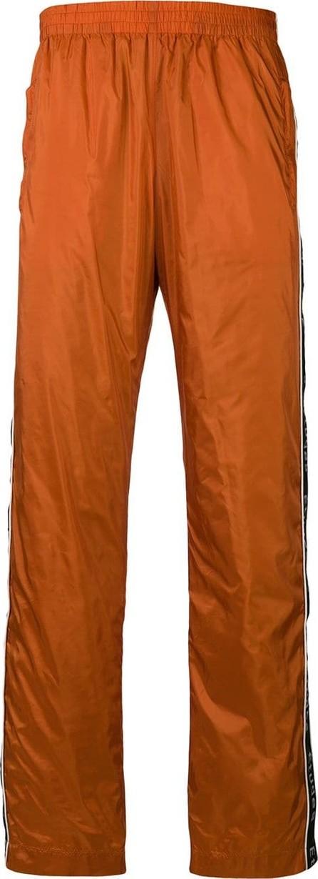 Etudes Logo stripe track trousers