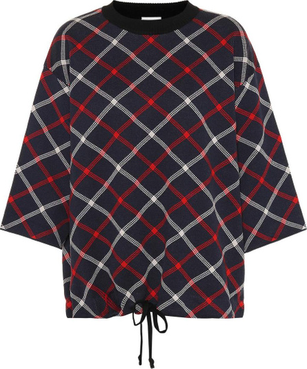 Dries Van Noten Plaid wool-blend sweater