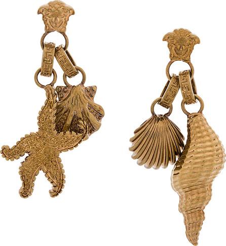 Versace Seashell Medusa earrings