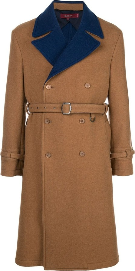 Sies Marjan Emerson Two-Tone DF Wool DB Trench
