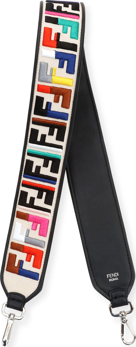 Fendi Strap You Tracolla FF Calf Shoulder Strap
