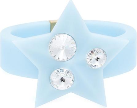 Miu Miu Crystal-embellished plexiglass cuff