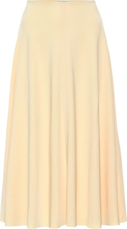 Acne Studios Iphy stretch jersey skirt