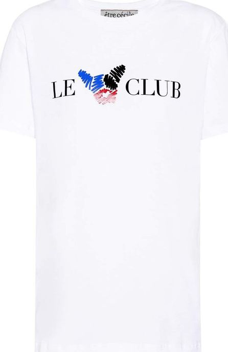 Etre Cecile Le Club printed cotton T-shirt