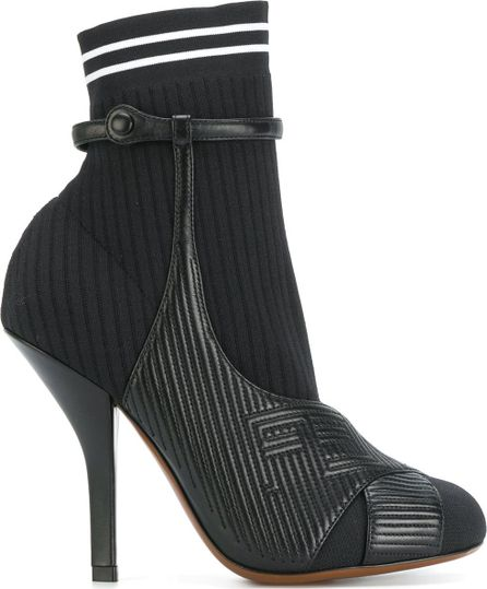 Fendi heeled sock boots