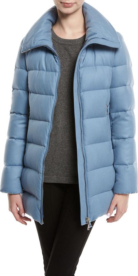 Moncler Torcelle High-Neck Puffer Coat