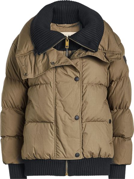 Burberry London England Quilted Down Jacket with Hood
