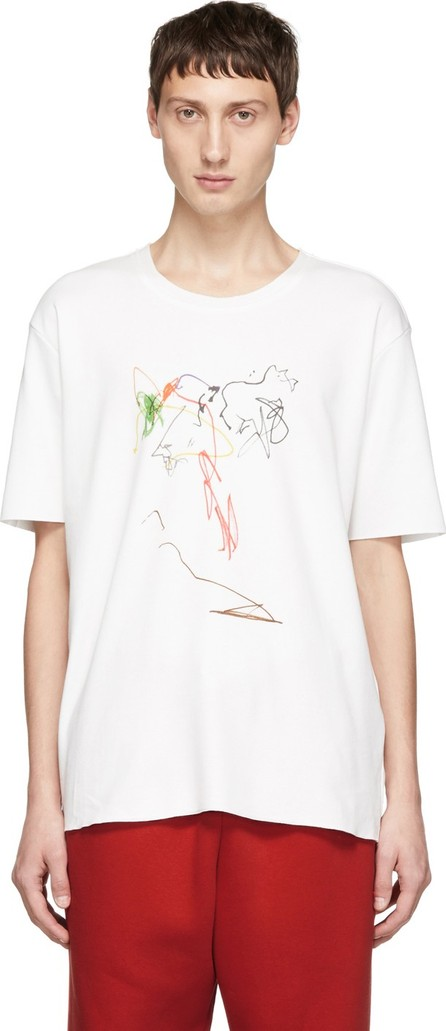 Camiel Fortgens White Drawing T-Shirt