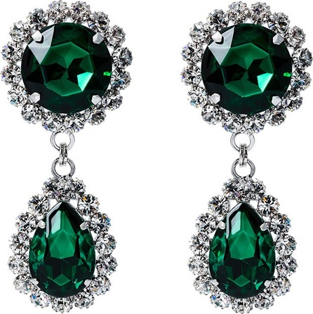 Alessandra Rich drop earrings