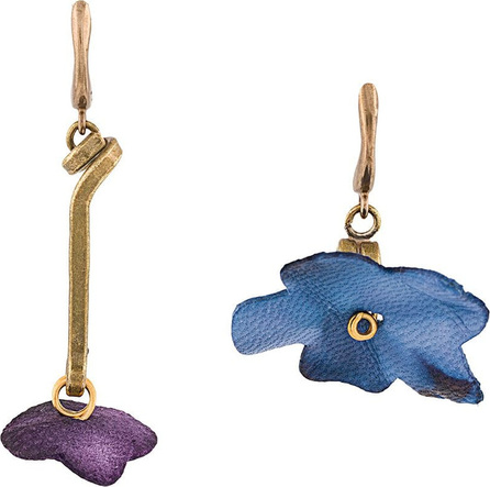 Marni Floral drop earrings