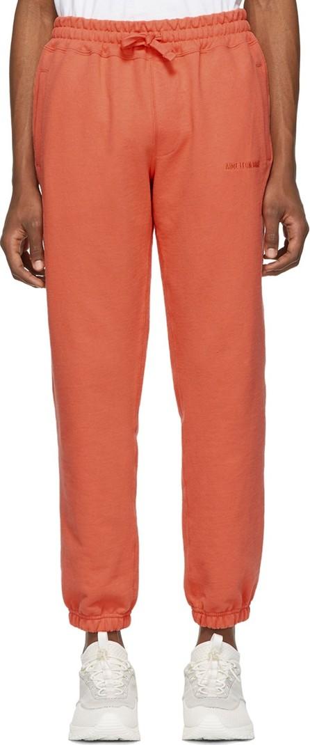 Aimé Leon Dore Orange French Terry Lounge Pants