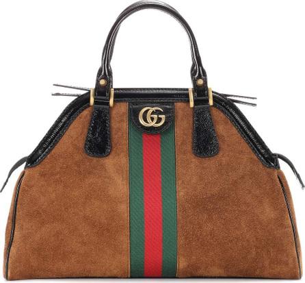 Gucci RE(BELLE) Medium suede top handle bag