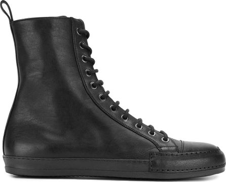 Haider Ackermann Hi top lace-up sneakers