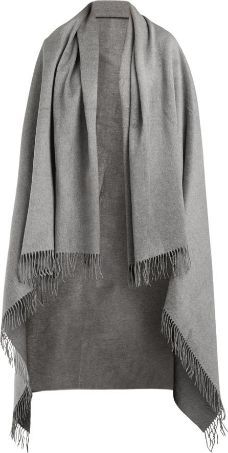 Brunello Cucinelli Oversized brushed-silk scarf