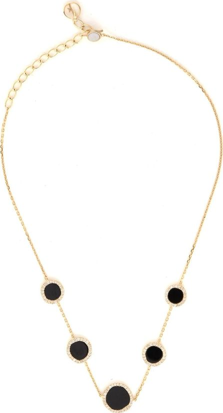 Anissa Kermiche Diamond, onyx & yellow-gold choker
