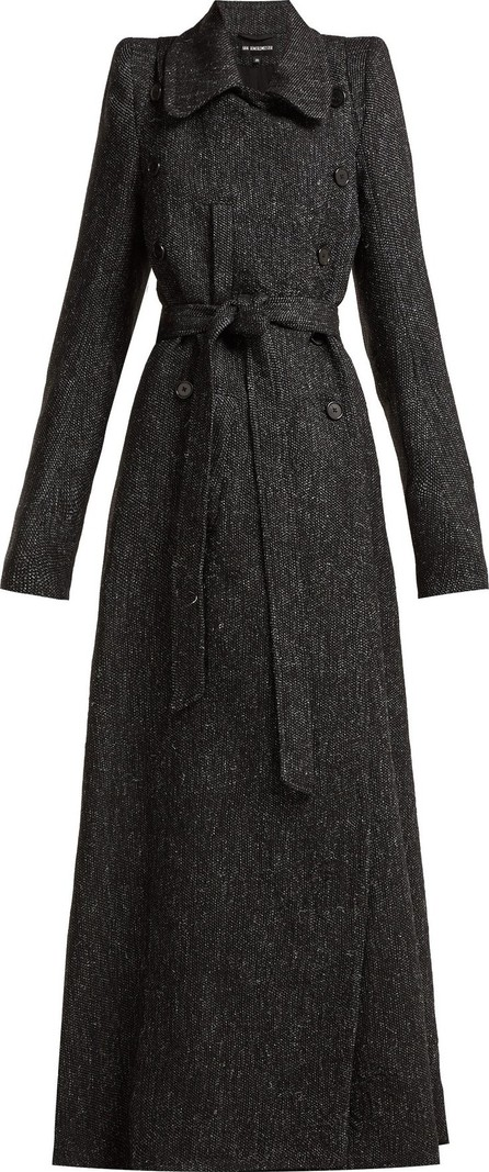 Ann Demeulemeester Northrop double-breasted tweed coat