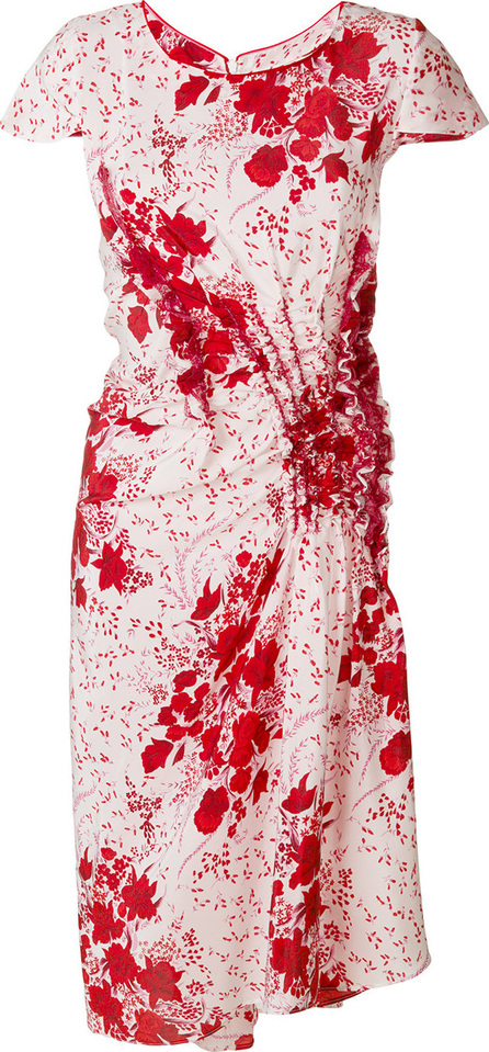 Ermanno Scervino Floral fitted dress