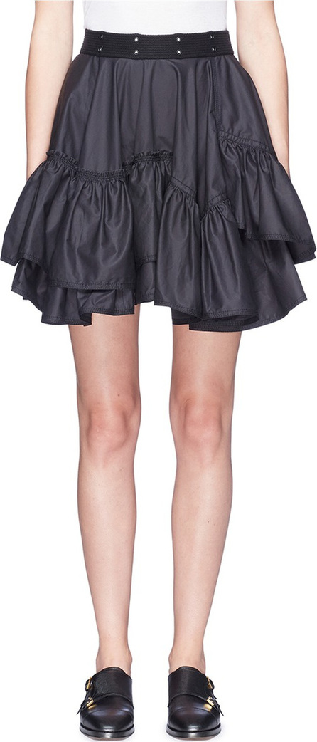 3.1 Phillip Lim Tiered ruffle flared skirt