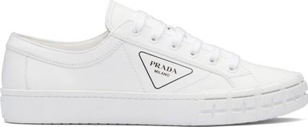 Prada Logo print low-top sneakers
