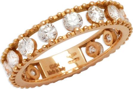 Staurino Fratelli Allegra 18k Rose Gold Diamond Openwork Band Ring (1.34ct.)