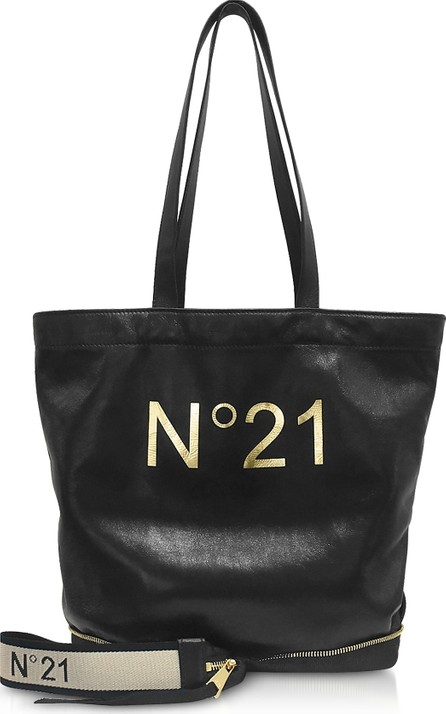 N°21 Black Small Foldable Shopping Bag