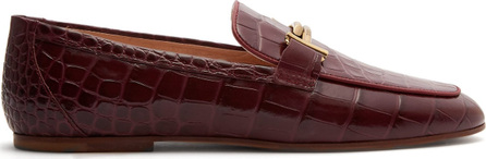 Tod's T-bar leather moccasins