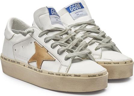 Golden Goose Deluxe Brand Hi Star Leather Platform Sneakers